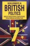 Developments in British Politics - Andrew Gamble, Patrick Dunleavy, Richard Heffernan