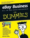 eBay Business All-in-One Desk Reference For Dummies (For Dummies (Computers)) - Marsha Collier