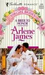 A Bride to Honor - Arlene James