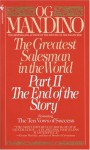 The Greatest Salesman in the World II - Og Mandino