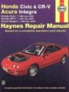 Honda Civic & CR-V - Acura Integra: Honda Civic - 1996 thru 2000 - Honda CR-V - 1997-2001 - Acura Integra 1994 thru 2000 - Larry Warren