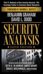 Security Analysis, Part V - Analysis of The Income Account. The Earnings Factor in Common-Stock Valuation - Benjamin Graham, David L. Dodd