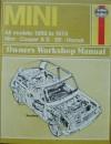 B.L.M.C. Mini Owners Workshop Manual: 1959 Thru 1978 - John H. Haynes