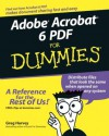 Adobe Acrobat 6 PDF for Dummies - Greg Harvey