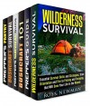Wilderness Survival Box Set (6 in 1): Prepping, Bushcraft and so Much More about Real Wilderness Survival for Those Who Want to Be Ready (Prepper's Survival & Bushcraft) - Ross Newman, Sam Gallagher, Calvin Hale, Michael Hansen, Cody Green, Corey Kidd