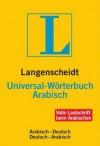 Langenscheidt Universal-Wörterbuch Arabisch - Langenscheidt