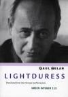 Lightduress - Paul Celan, Pierre Joris
