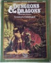 Creature Catalogue (Dungeons and Dragons Accessory AC9 ) - Jim Bambra, Phil Gallagher, Graeme Morris