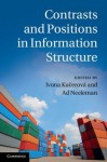 Contrasts and Positions in Information Structure - Ivona Ku Erov, Ad Neeleman