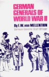 German Generals Of World War II - F.W. von Mellenthin