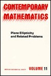 Plane Ellipticity and Related Problems - Robert P. Gilbert