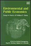 Environmental and Public Economics: Essays in Honor of Wallace E. Oates - Arvind Panagariya