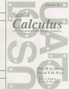 Saxon Calculus with Trigonometry and Analytic Geometry Answer Key - John H. Saxon Jr., Frank Y.H. Wang