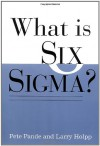 What Is Six SIGMA? - Peter S. Pande, Lawrence Holpp