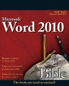 Word 2010 Bible - Herb Tyson
