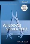 Microsoft Windows Server 2003 Administrator's Pocket Consultant - William R. Stanek