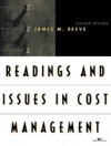 Readings and Issues in Cost Management - James M. Reeve