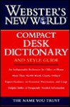 Webster's New World Compact Desk Dictionary And Style Guide - Michael E. Agnes