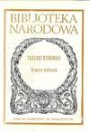 Utwory wybrane - Tadeusz Borowski