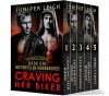 MC Fight Club: Iron Banshees: (Complete Series: Parts 1-5) An MC Fighter Menage Romance - Juniper Leigh