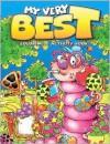 My Very Best Zebra Coloring & Activity Book: Zebra Birthday - School Specialty Publishing