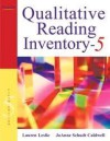 Qualitative Reading Inventory 5th (fifth) edition - Lauren Leslie