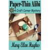 Paper-Thin Alibi - Mary Ellen Hughes