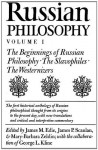 Russian Philosophy V1: Beginnings Of Russian Philosophy - James M. Edie, James M. Edie, James P. Scanlan