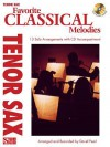 Favorite Classical Melodies: Tenor Sax [With CD (Audio)] - David Pearl