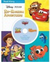 3-in-1 Read-Along Storybook and CD: DisneyPixar Rip-Roaring Adventures - Ronald Kidd, Randy Thornton