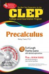 CLEP Precalculus w/ TestWare CD - Betty Travis, Mel Friedman, CLEP, Calculus Study Guides
