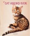 My Cat Record Book - Rachael Hale