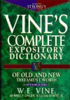 Vine's Complete Expository Dictionary of Old and New Testament Words: With Topical Index - W.E. Vine, Merrill F. Unger