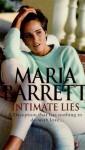 Intimate Lies - Maria Barrett