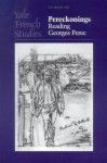 Yale French Studies, Number 105: Pereckonings: Reading Georges Perec - Warren Motte, Warren Motte