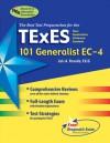 TExES 101 Generalist EC-4 (REA) - The Best Teachers' Test Prep - Luis A. Rosado