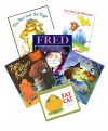 The Cat Pack : The Tiger and the Rat - Leo the Late Bloomer - Fred - The Fat Cat, a Danish Folktale - The Cats on Tiffany Street - Cat Nights (Story Book Set for Kids) - Jack Kent, Posy Simmonds, Sarah Hayes, Jane Manning, Keiko Kasza, Robert Kraus, Joy Allen, Julie Durrell