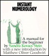 Instant Numerology - Sandra Kovacs Stein