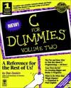 C for Dummies, Volume 2 - Dan Gookin