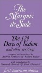 The 120 Days of Sodom and Other Writings - Marquis de Sade, Simone de Beauvoir, Pierre Klossowski, Austryn Wainhouse, Richard Seaver