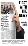 First with the News - Michael Evans