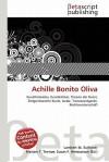 Achille Bonito Oliva - Lambert M. Surhone, Susan F. Marseken