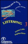 Listening 3 Cassettes (2): Upper-intermediate - Joanne Collie, Stephen Slater