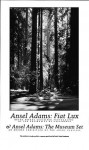 FIAT LUX POSTER: REDWOOD FORST, FOUNDERS GROVE - Ansel Adams