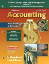 Glencoe Accounting: Real-World Applications & Connections, First-Year Course - Glencoe/McGraw-Hill