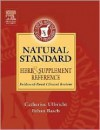 Natural Std Herb & Suppl Reference - Natural Standard, Ethan M. Basch