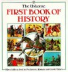 First Book of History: Prehistoric Times, Castle Times, Roman Times - J. Chisholm, Robyn Gee