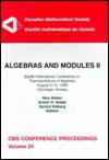 Algebras and Modules II: Eighth International Conference on Representations of Algebras, August 4-10, 1996, Geiranger, Norway (Conference Proceedings (Canadian Mathematical Society)) - International Conference on Representations of Algebras 1996 geirange, Idun Reiten