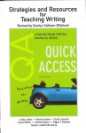 Strategies And Resources For Teaching Writing With The Quick Access For Writers, 5/E - Lynn Quitman Troyka, Douglas Hesse