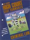 High Court Case Summaries on Criminal Law: Johnson (Miscellaneous Ser) - Phillip E. Johnson, West Publishing Group